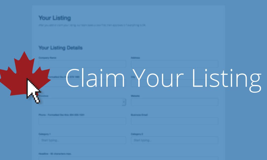 Comment configurer votre liste Websites.ca pour promouvoir votre entreprise